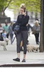 ERIN HEATHERTON Out and About in New York 03/05/2017