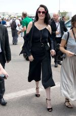 EVA GREEN Out and About in Cannes 05/26/2017