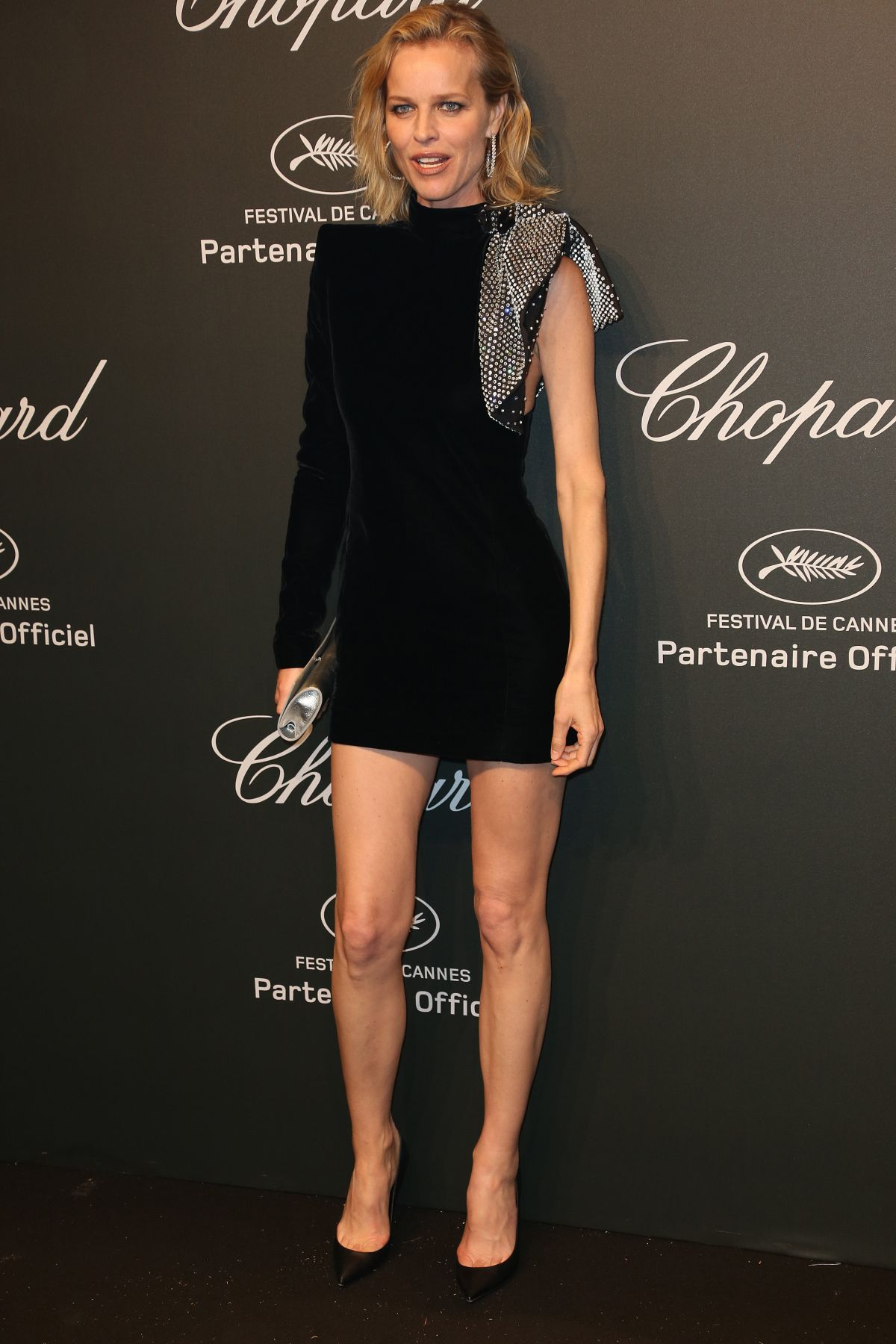 EVA HERZIGOVA at Chopard Party at 2017 Cannes Film Festival 05/19/2017
