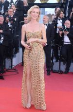 EVA HERZIGOVA at Ismael's Ghosts Screening and Opening Gala at 70th Annual Cannes Film Festival 05/17/2017