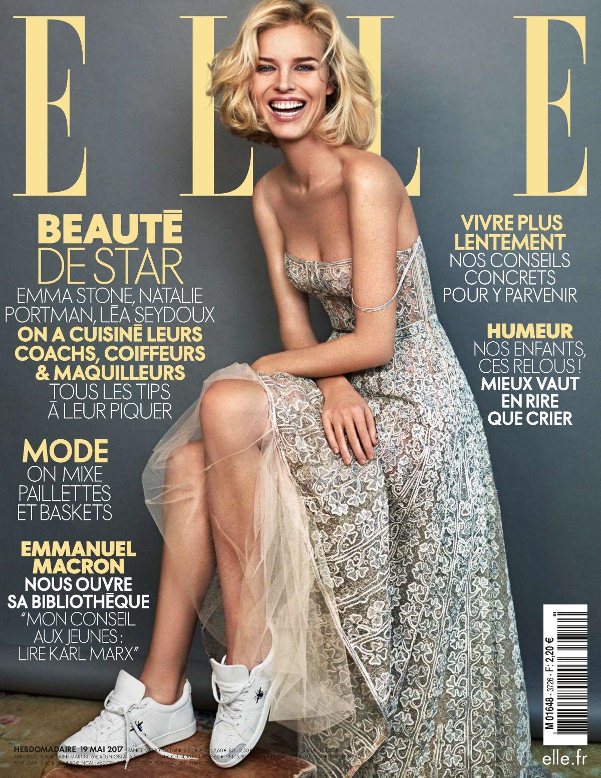 EVA HERZIGOVA in Elle Magazine , France May 2017