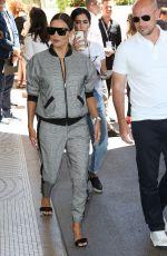 EVA LONGORIA Arrives at Martinez Hotel in Cannes 05/19/2017