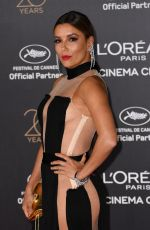 EVA LONGORIA at L'Oreal 20th Anniversary Party at Cannes Film Festival 05/24/2017