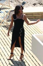 EVA LONGORIA at Martinez Beach in Cannes 05/21/2017