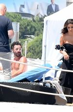 EVA LONGORIA on the Set of a Photoshoot in Cannes 05/23/2017