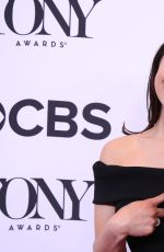 EVA NOBLEZADA at 2017 Tony Awards Meet the Nominees Press Junket in New York 05/03/2017
