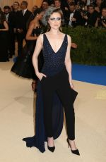 EVAN RACHEL WOOD at 2017 MET Gala in New York 05/01/2017