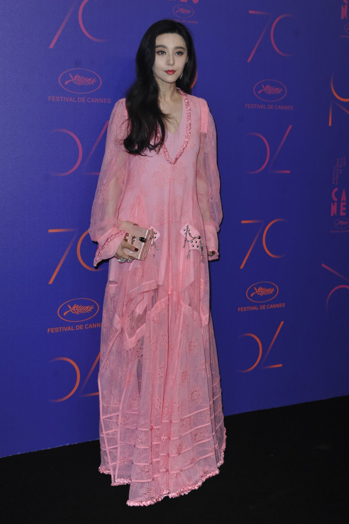 FAN BINGBING at Cannes Film Festival 70th Anniversary Dinner 05/23/2017