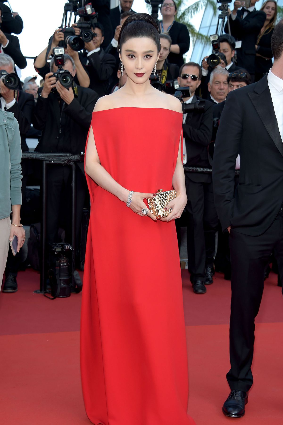 FAN BINGBING at The Beguiled Premiere at 70th Annual Cannes Film Festival 05/24/2017