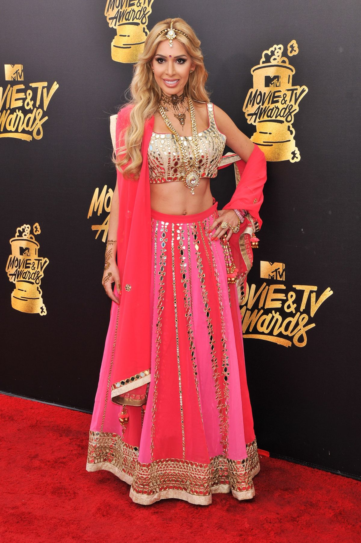 FARRAH ABRAHAM at 2017 MTV Movie & TV Awards in Los Angeles 05/07/2017