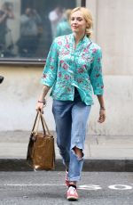 FEARNE COTTON Leaves BBC Radio 2 in London 05/30/2017