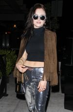 FRANCESCA EASTWOOD at Peppermint Club in West Hollywood 05/14/2017