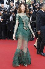 FREDERIQUE BEL at Ismael's Ghosts Screening and Opening Gala at 70th Annual Cannes Film Festival 05/17/2017