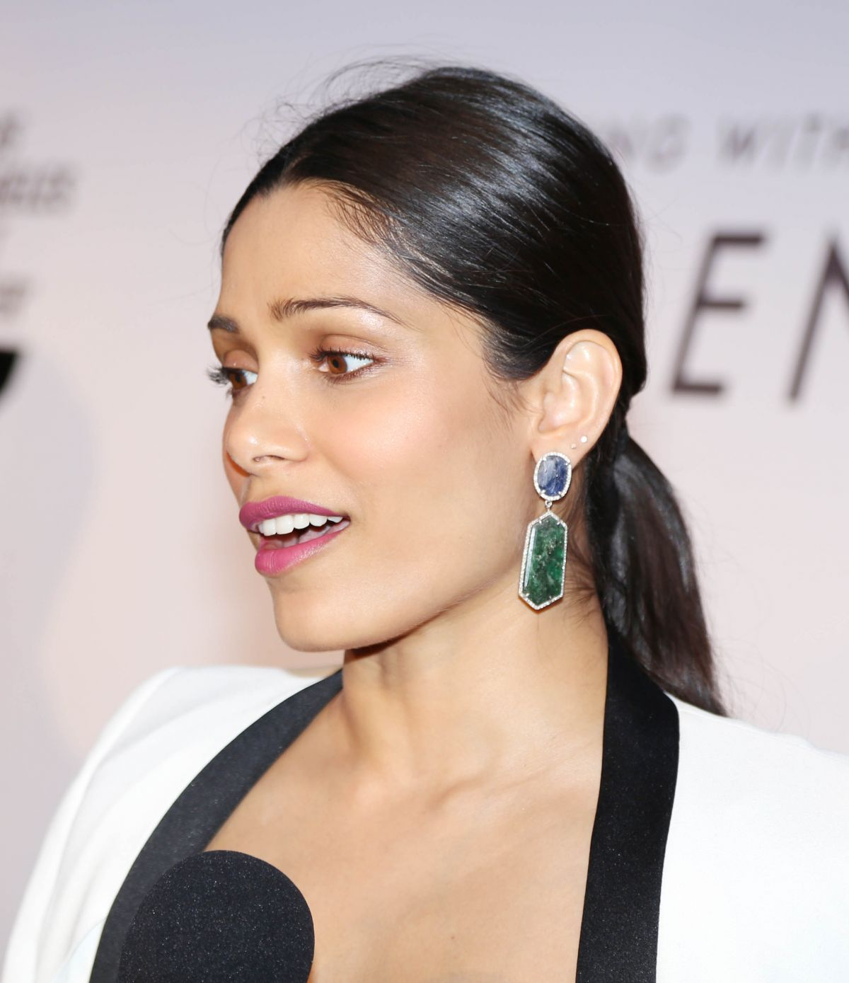 FREIDA PINTO at Los Angeles LGBT Center's An Evening with ...