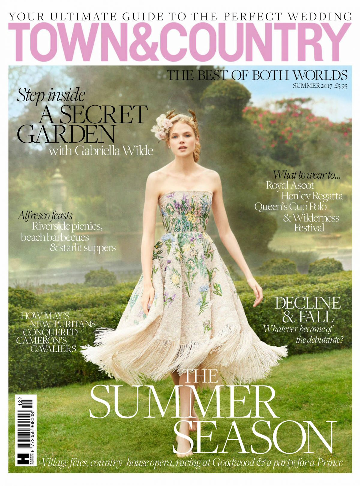 GABRIELLA WILDE in Town & Country Magazine, UK Summer 2017