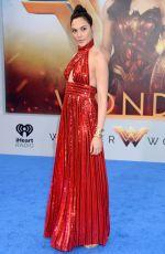 GAL GADOT at Wonder Woman Premiere in Los Angeles 05/25/2017