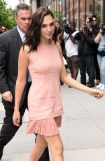 GAL GADOT Out Promotes Wonder Woman in New York 05/23/2017