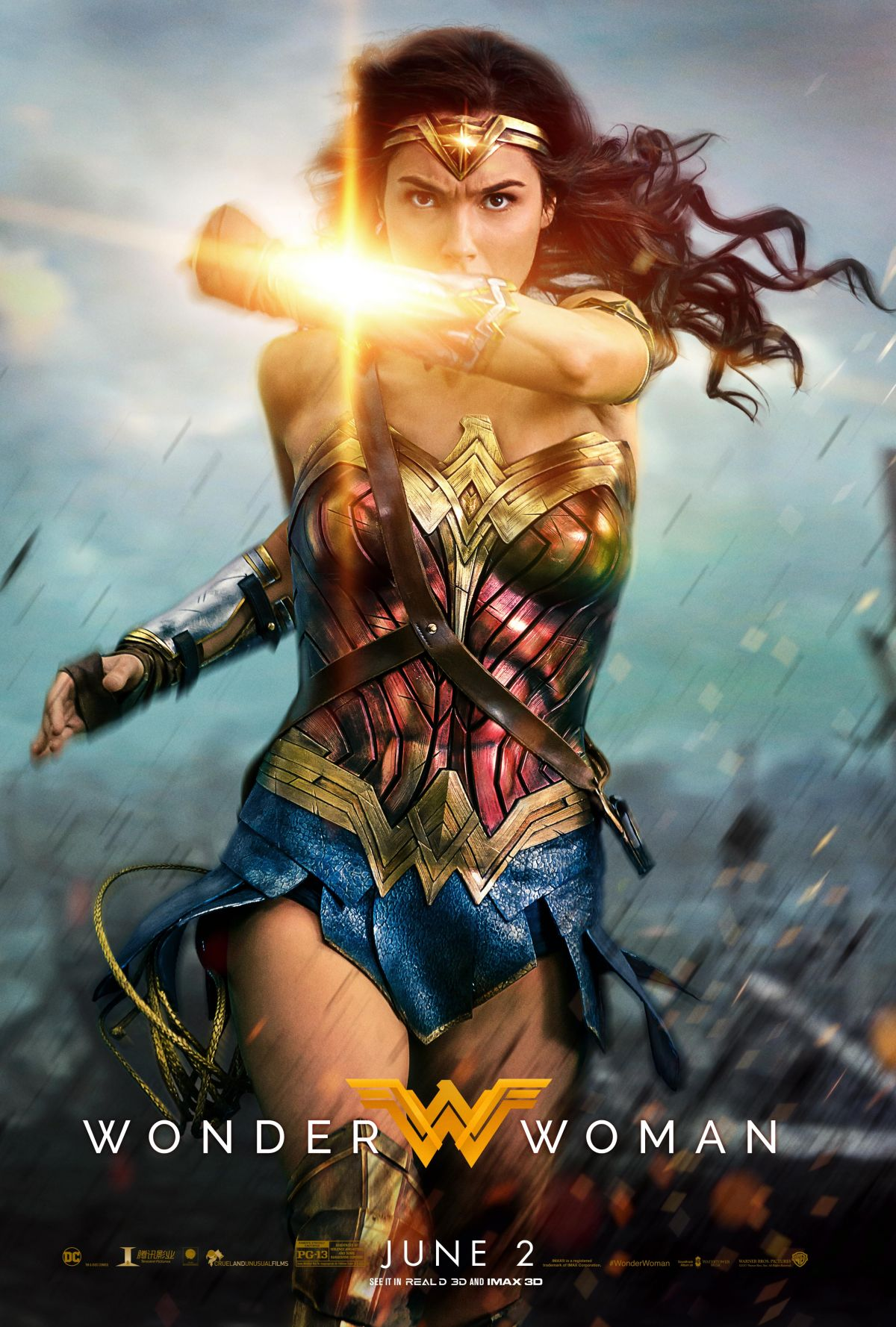 GAL GADOT - Wonder Woman Posters and Stills, 2017 ...