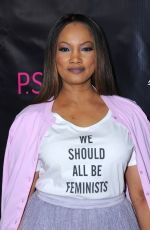 GARCELLE BEAUVAIS at P.S. Arts Party in Hollywood 05/04/2017