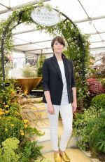 GEMMA ARTERTON at 2017 RHS Chelsea Flower Show in London 05/22/2017