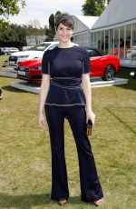 GEMMA ARTERTON at Audi Polo Challenge at Coworth Park in Ascot 05/06/2017