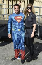 GEMMA ATKINSON at Cash for Kids Super Hero Day in Manchester 05/05/2017