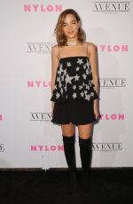 GEORGIE FLORES at Nylon Young Hollywood May Issue Party in Los Angeles 05/02/2017