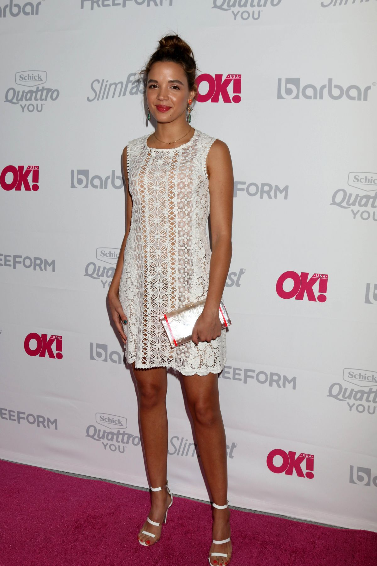GEORGIE FLORES at OK Magazine Summer Kickoff in Los Angeles 05/17/2017