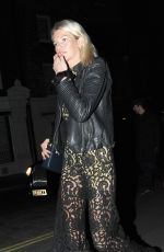 GEORGIE HUDDART at Chiltern Firehouse in London 05/04/2017