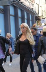 GIGI GORGEOUS Out and About in New York 05/03/2017