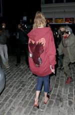 GIGI HADID Out for Dinner at Gato in New York 05/12/2017