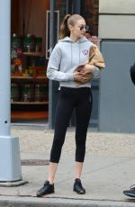 GIGI HADID Out in New York 05/24/2017