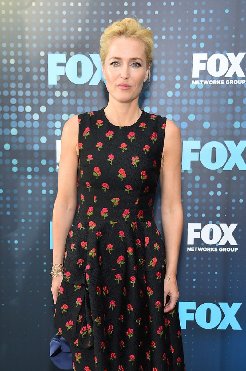 GILLIAN ANDERSON at Fox Upfront Presentation in New York 05/15/2017