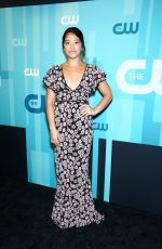 GINA RODRIGUEZ at CW Network's Upfront in New York 05/18/2017