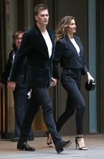 GISELE BUNCHEN and Tom Brady Out in New York 05/01/2017