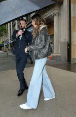 GISELE BUNDCHEN Leaves Her Apartment in New York 05/05/2017