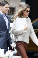 GISELE BUNDCHEN Out at Madison Avenue in New York 05/09/2017