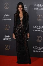 GIZELE OLIVEIRA at L'Oreal 20th Anniversary Party at Cannes Film Festival 05/24/2017
