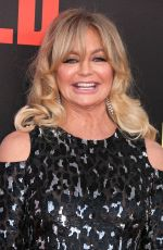 GOLDIE HAWN at Snatched Premiere in Los Angeles 05/10/2017
