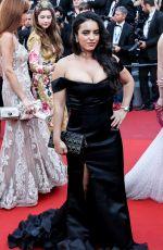 HAFSIA HERZI at 70th Annual Cannes Film Festival Closing Ceremony 05/28/2017
