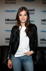 HAILEE STEINFELD at SiriusXM Hits 1 in Hollywood Broadcasts Backstage 05/20/2017
