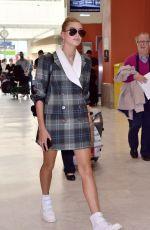 HAILEY BALDWIN Arrives Nice Airport 05/17/2017