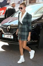 HAILEY BALDWIN Arriving at Martinez Hotel in Cannes 05/17/2017