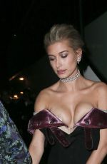 HAILEY BALDWIN at MET Gala After Party in New York 05/01/2017