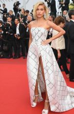 HAILEY BALDWIN at The Beguiled Premiere at 70th Annual Cannes Film Festival 05/24/2017