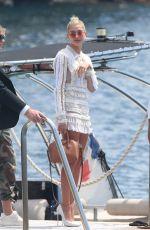HAILEY BALDWIN Leaves Eden Roc Hotel in Cannes 05/23/2017