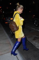 HAILEY BALDWIN Leaves Her Hotel in New York 05/03/2017
