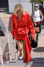 HAILEY BALDWIN Out and About in Cannes 05/24/2017
