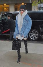 HAILEY BALDWIN Out and About in New York 05/05/2017