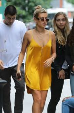 HAILEY BALDWIN Out and About in New York 05/28/2017